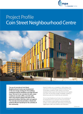 Project Profile - Coin Street Neighbourhood Centre