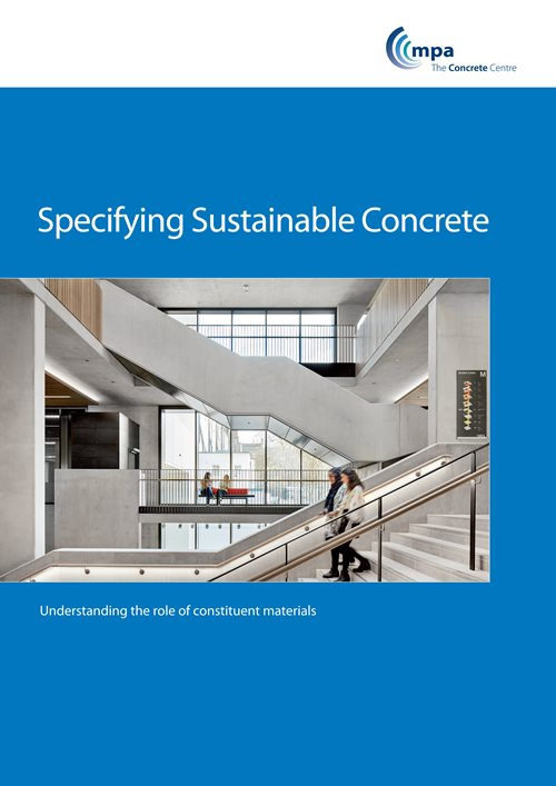 Specifying Sustainable Concrete