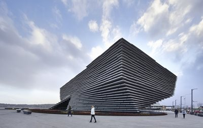 Reflections on Concrete Elegance - V&A Dundee