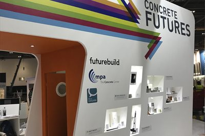 Concrete Futures at Futurebuild: Exploring Innovation and New Technology